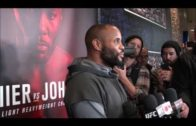 Daniel Cormier reacts to speculation about Jon Jones being at UFC 210