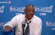Doc Rivers rips a reporter in post game press conference after Game 1 loss to Utah