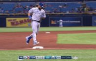 Kendrys Morales smokes a grand slam for his first homer as a Blue Jay