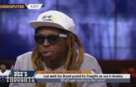 Lil Wayne joins Skip Bayless & Shannon Sharpe to react to Dez Bryant's comments on race