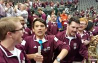 Mississippi State band fired up after Final Four win over UConn (FV Exclusive)