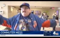 New York Mets fan loses it over missing Opening Day over NYC trains
