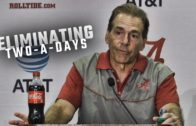 Nick Saban critical of the NCAA for new practice policies
