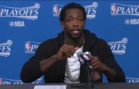 """Patrick Beverely rips Russell Westbrook in post game press conference: """"Numbers don't lie"""""""