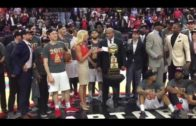 Raptors 905 presented with NBA D-League Championship Trophy (FV Exclusive)