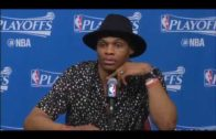 Russell Westbrook fires shots at Patrick Beverley after losing playoff series to Houston