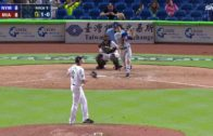 Tim Tebow hits deep fly ball out vs. Houston Astros (FV Exclusive)