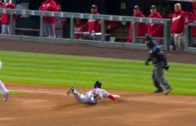 Trea Turner hits for the cycle with 7 runs batted in