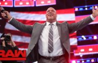 Brock Lesnar, Goldberg & The Undertaker square off on Monday Night Raw