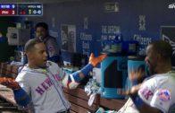 Yoenis Cespedes belts 3 homers vs. Philadelphia