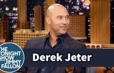 Derek Jeter gives take on Yankees rookie Aaron Judge with Jimmy Fallon