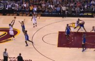 JR Smith buries a deep buzzer beater 3-pointer in Game 4
