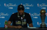Kevin Durant speaks on winning Finals MVP & winning his first NBA Championship