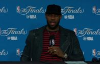LeBron James speaks on losing to the Golden State Warriors in 5 Games