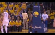 LeBron James throws down vicious poster slam on JaVale McGee