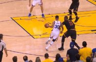 Stephen Curry invites LeBron James to dance