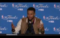 Stephen Curry NBA Finals Game 2 Press Conference