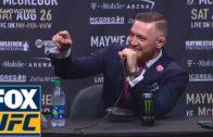 Conor McGregor vs Floyd Mayweather full media press conference