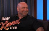 Dana White breaks down Conor McGregor vs Floyd Mayweather on Jimmy Kimmel