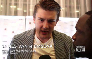 James Van Riemsdyk talks Toronto Maple Leafs future & Toronto fans