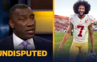 Shannon Sharpe reacts to Mike Vick's claim on Colin Kaepernick needing to cut his hair