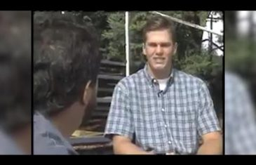 Tom Brady's possible first media interview from 1994 while in High School