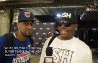 Bonzi Wells speaks on Kyrie Irving vs Cavs situation, Super Teams, Ice Cube & the Big 3