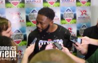 Charles Tapper speaks on coming back from injury to play for the Cowboys