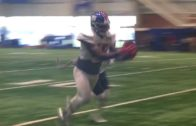 Giants' Brandon Marshall makes impressive catch at training camp