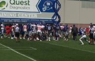 New York Giants have near-melee at training camp