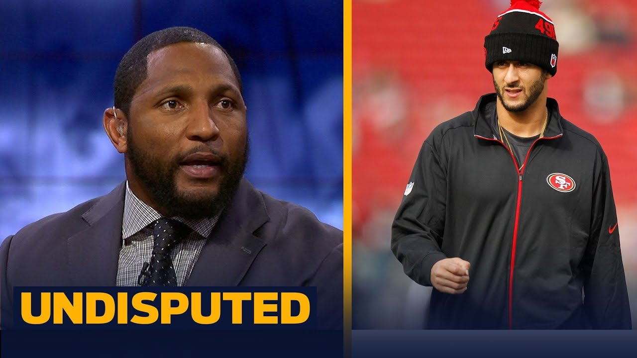 Ray Lewis delivers personal advice to QB Colin Kaepernick