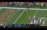 Aqib Talib picks off Dak Prescott for 103-yard TD