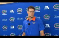 Florida QB Feleipe Franks discusses game winning TD throw