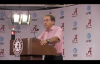 "Nick Saban talks Saturday's performance: ""We didn't finish"""
