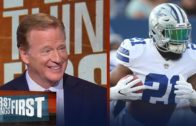 Roger Goodell discusses Colin Kaepernick & Ezekiel Elliott suspension