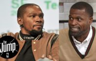 Stephen Jackson clowns KD for the Twitter fiasco