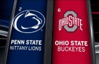 #6 Ohio State pulls off come-back win over #2 Penn State
