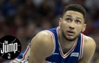 Ben Simmons notches first career triple double
