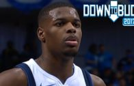 Dennis Smith Jr. becomes youngest ever with debut double double