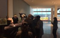 Jerry Jones is confronted by protesters at NFL meeting