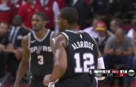 LaMarcus Aldridge shows out in Kawhi Leonard's absence