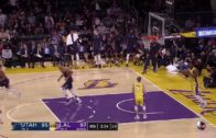 Rudy Gobert throws down a mammoth put-back in traffic