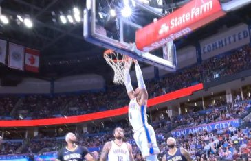 Russell Westbrook makes his preseason debut