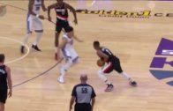 Sacramento Kings rookie Justin Jackson loses his ankles