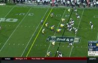 Michigan APB Evans makes 49-yard TD to open lead