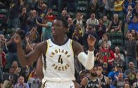 Victor Oladipo's late triple wins it for Indiana