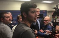 Auburn QB Jarrett Stidham addresses the Tiger's Iron Bown victory