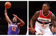 Bradley Beal and TJ Warren trade buckets in the nation's capitol