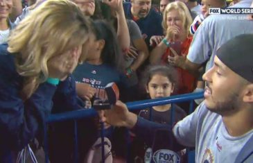 Carlos Correa proposes to girlfriend after winning World Series in Game 7