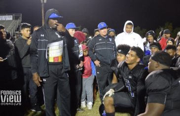 Deion Sanders & Trinity Christian coaches give a motivational speech to their players